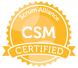 Scrum Alliance Certified ScrumMaster