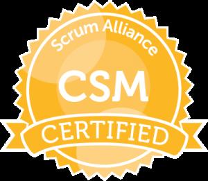 Certified ScrumMaster seal