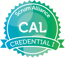 Certified Agile Leadership Credential I seal